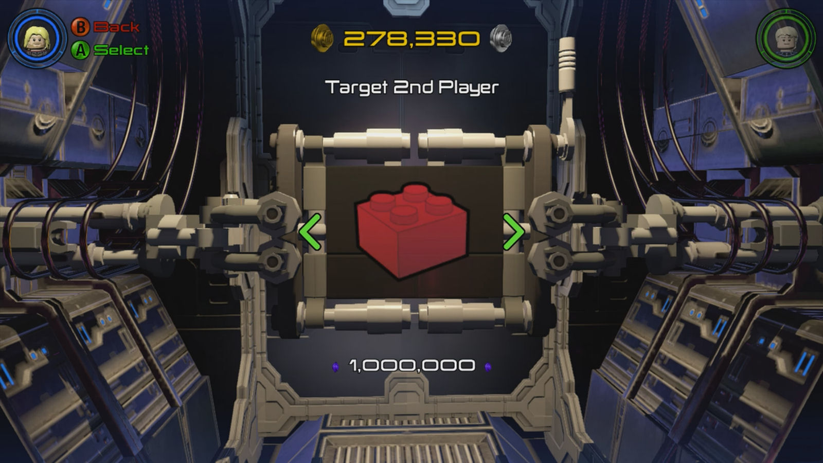 Lego Marvel's Avengers Red Brick 17: Target 2nd Player Location