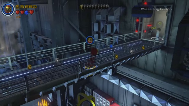 Lego Marvel's Avengers Red Brick 3: Studs x4 Location