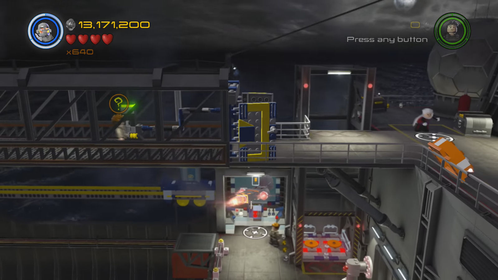 Lego Marvel's Avengers The Collector Arnim Zola's Glasses Location