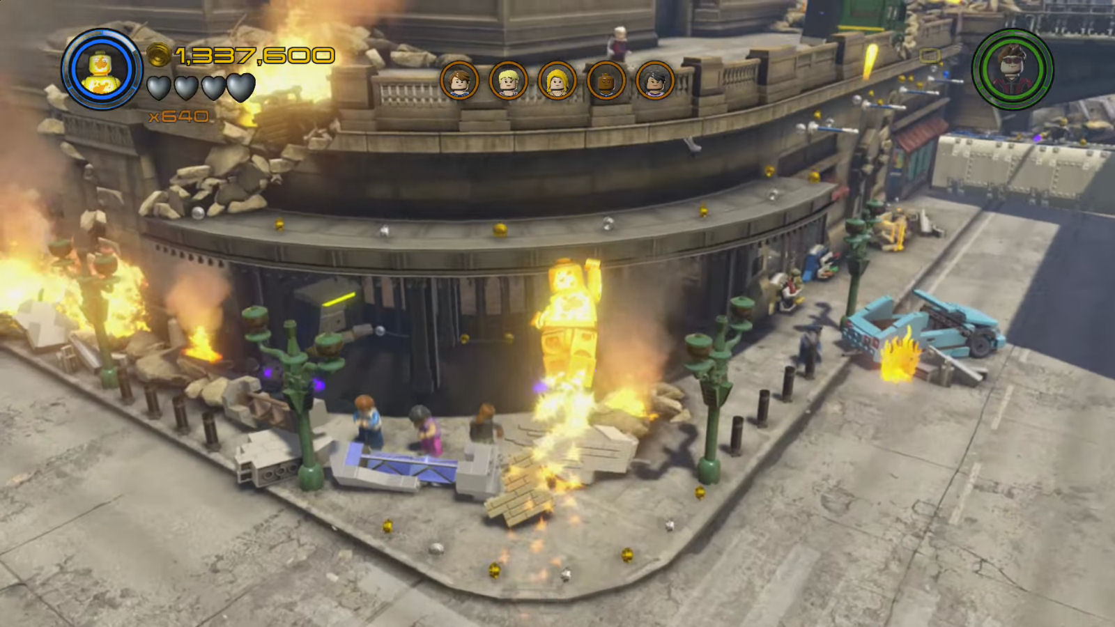 Lego Marvel's Avengers The Collector Bouffant Wig Location
