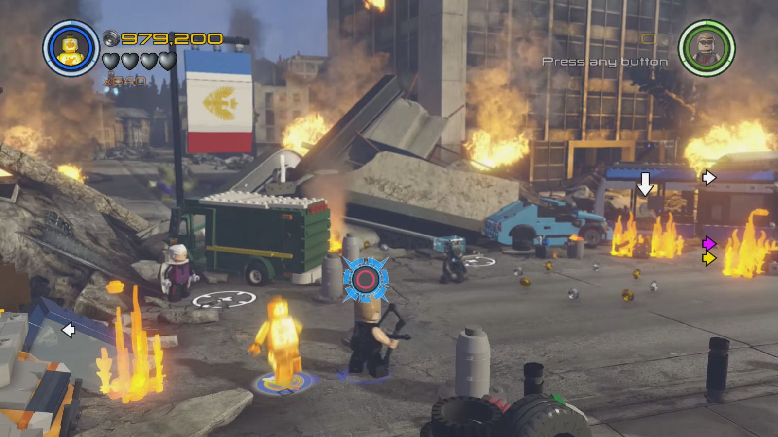Lego Marvel's Avengers The Collector Sokovian Flag Location
