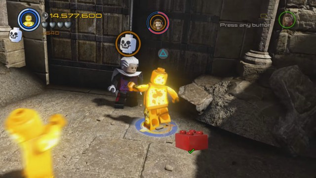 Lego Marvel's Avengers The Collector Sokovian Skeleton Skull Location