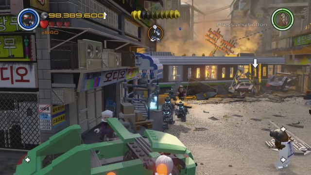 Lego Marvel's Avengers The Collector Stinky Fish Location