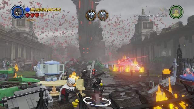 Lego Marvel's Avengers The Collector Tea Cup Location