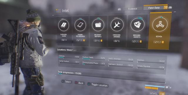 The Division Intel Locations Guide