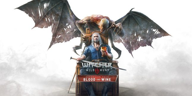 The Witcher 3: Blood and Wine Key Art