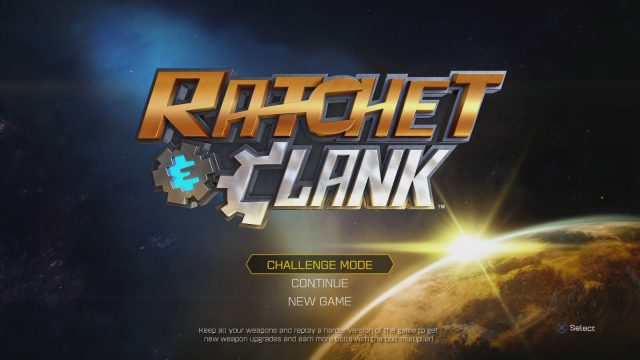 Ratchet and Clank PS4 Challenging Trophy