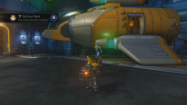 Ratchet and Clank PS4 Full Gun Rack Trophy