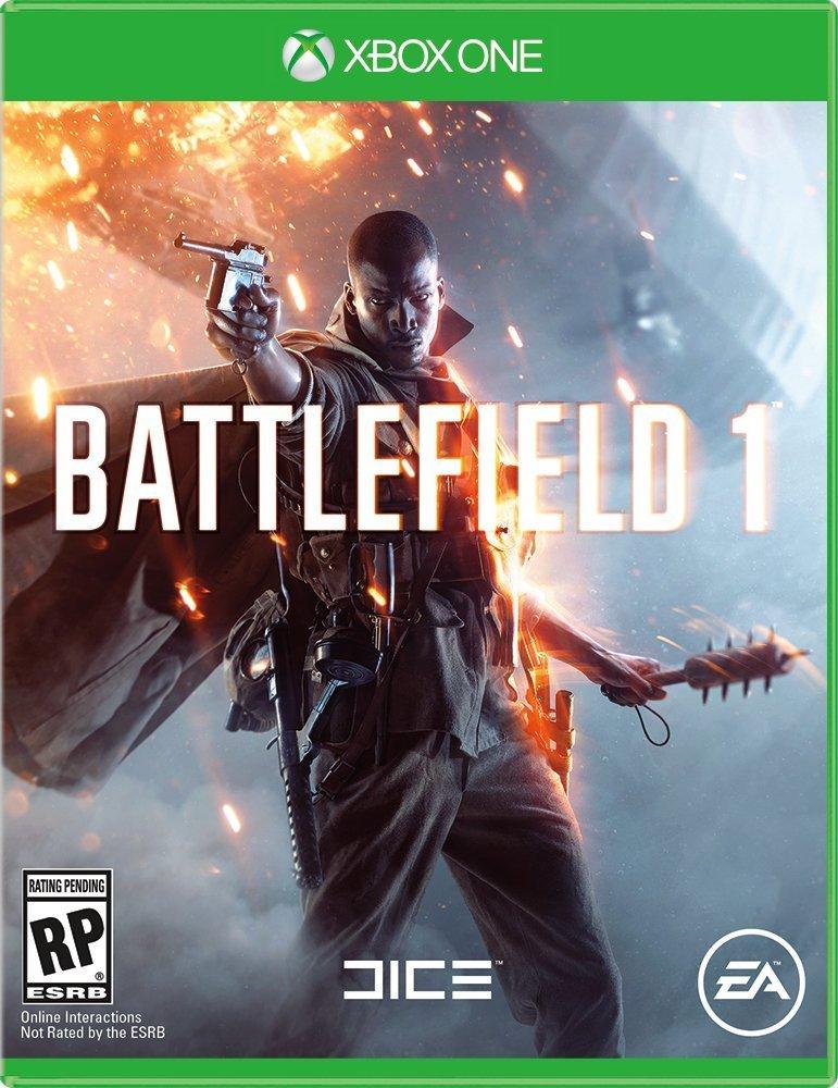 Battlefield 1 Xbox One Standard Edition Boxart