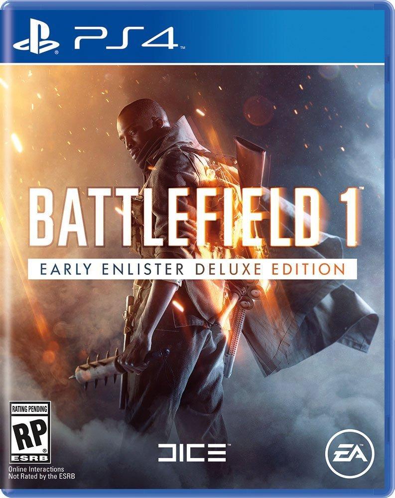 Battlefield 1 PS4 Deluxe Edition Boxart