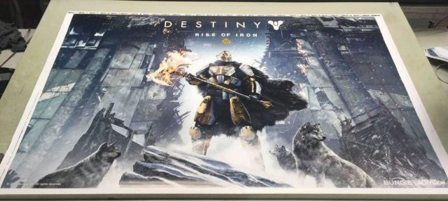 Destiny: Rise of Iron Poster