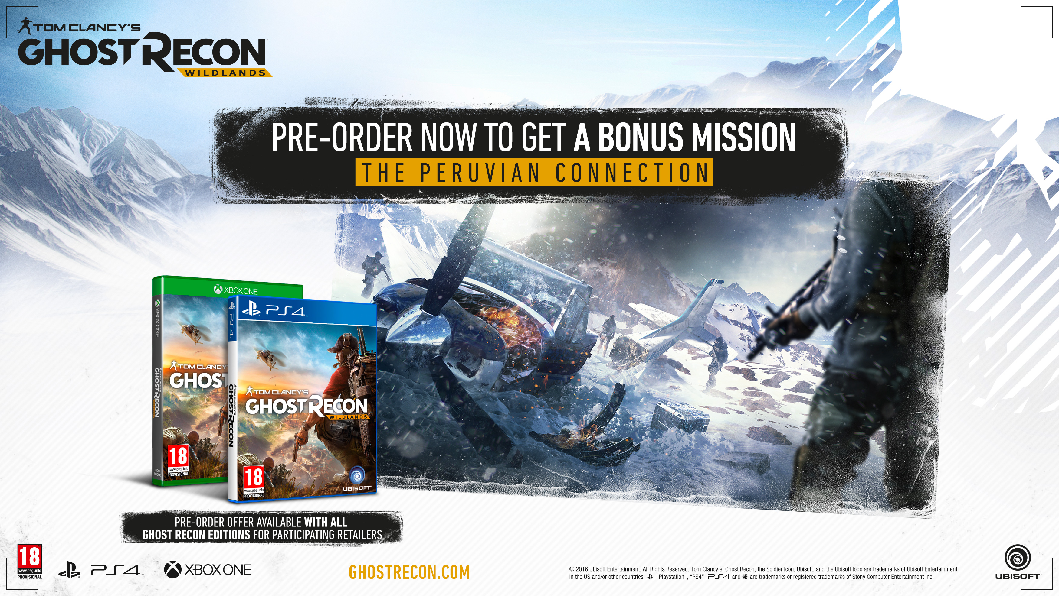 ghost recon wildlands trailer & special editions