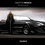 Final Fantasy XV Regalia Concept Art 1