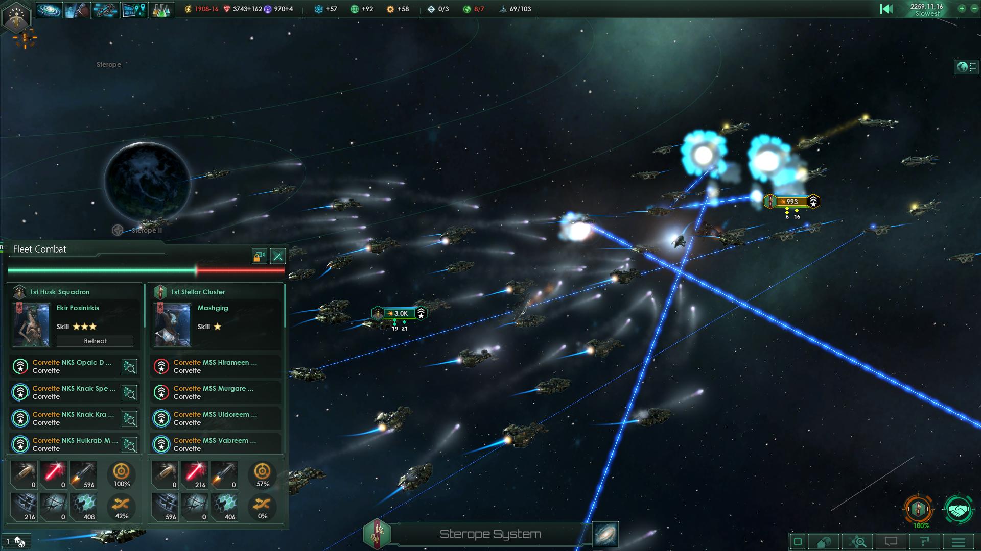 Stellaris Battle Screenshot 2