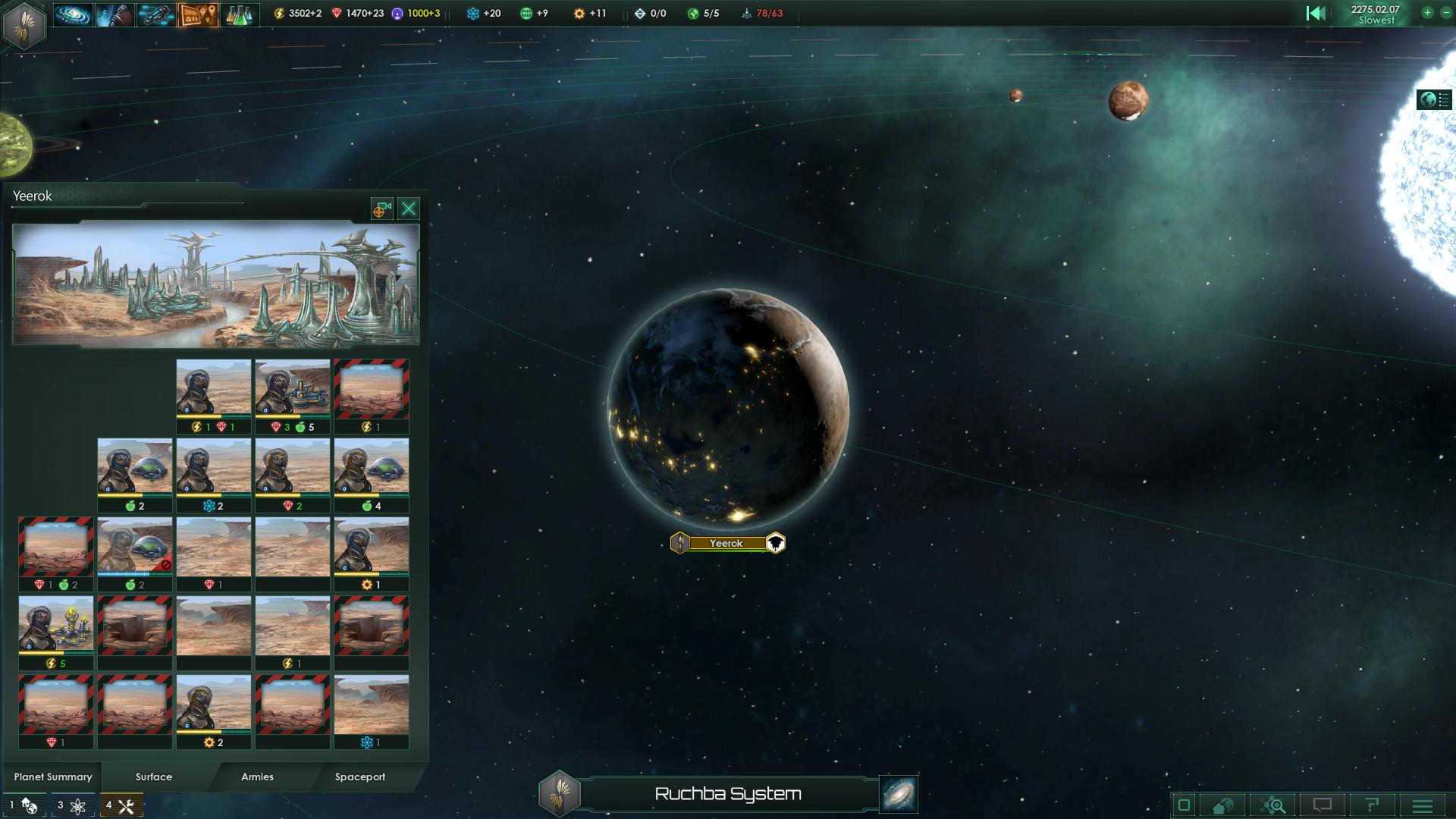 Stellaris Planet Screenshot 1