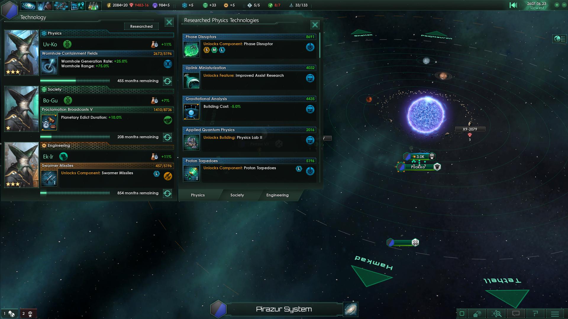 Stellaris Research Screenshot