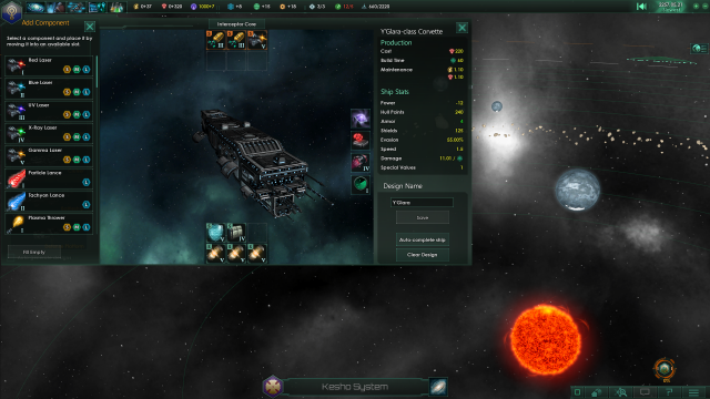 Stellaris Ship Design Screenshot