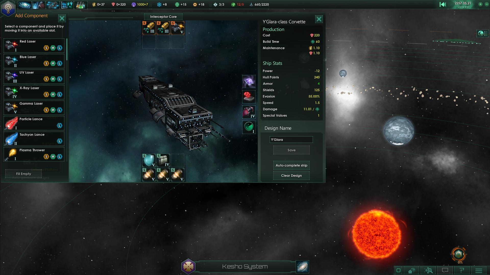 Stellaris Ship Design Screenshot