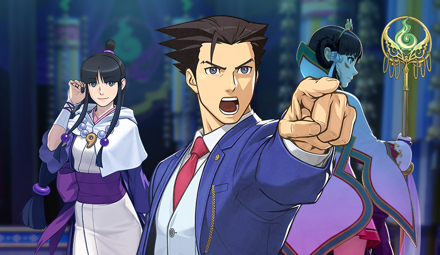 Ace Attorney Spirit Of Justice Japanese Trailer