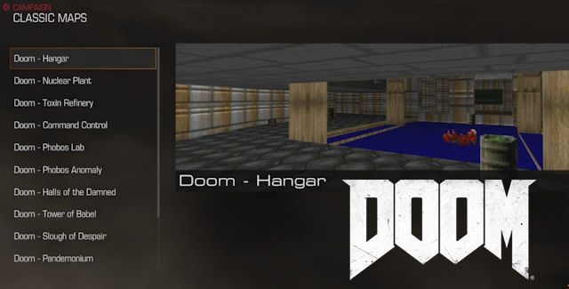 DOOM 2016 Classic Maps Locations Guide