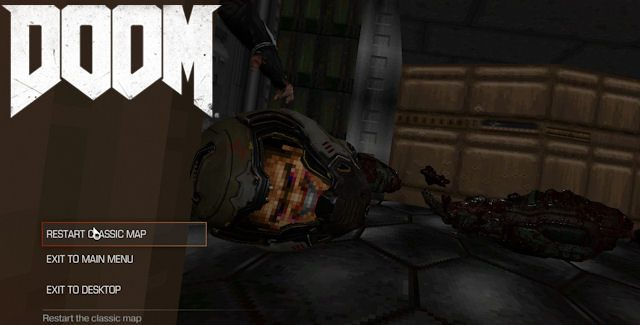 DOOM 2016 Easter Eggs