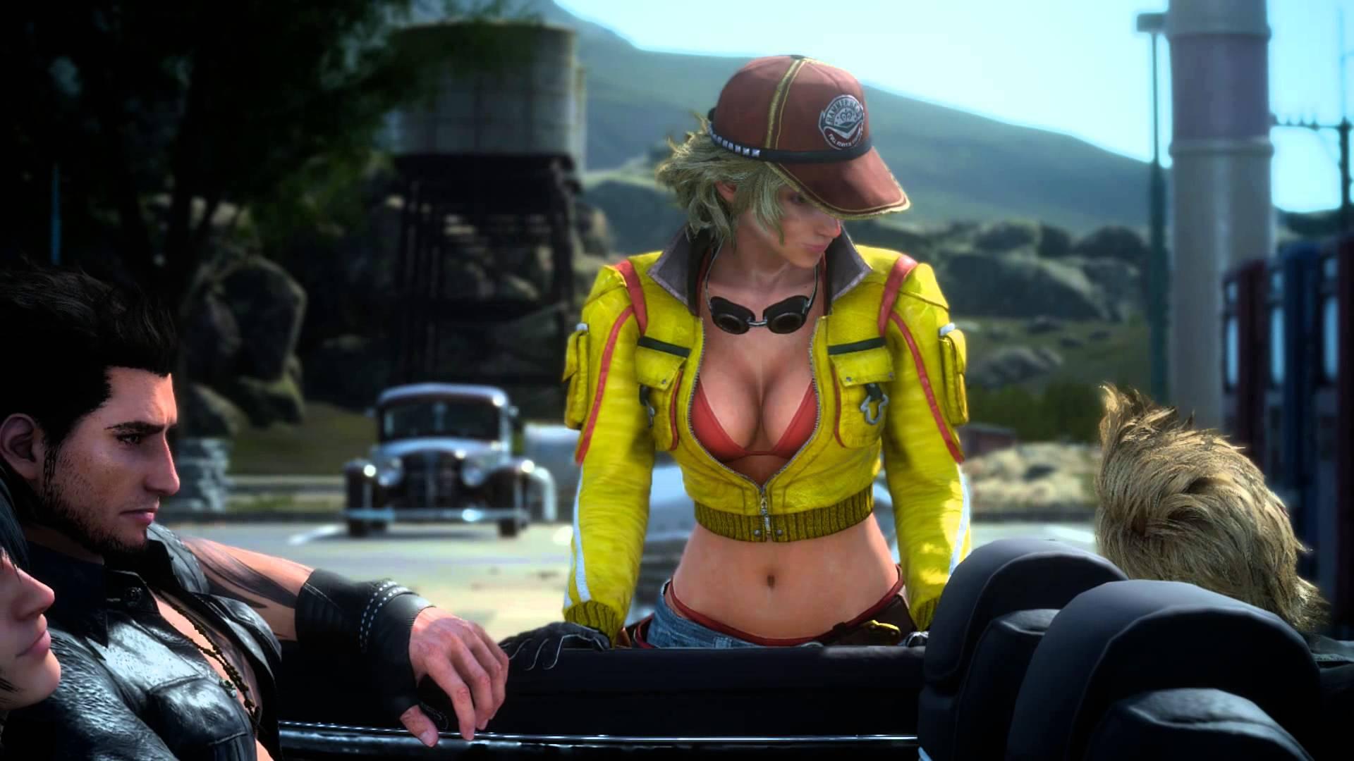 Final Fantasy Xv Cindy Aurum Image