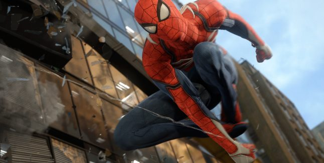 Spider-Man PS4 Screen 2