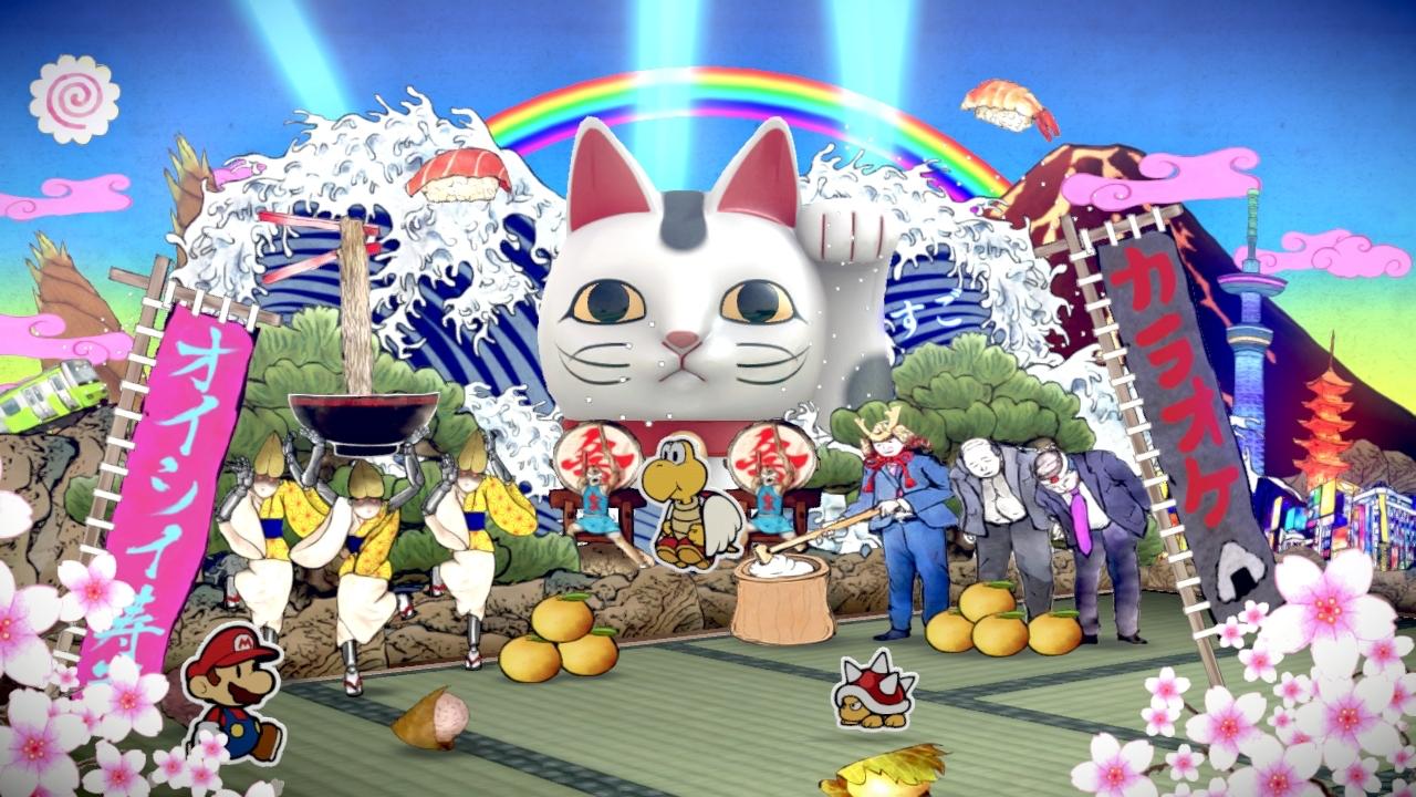 Paper Mario Color Splash Screen 7