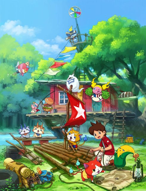 Yo Kai Watch 3 Art 2