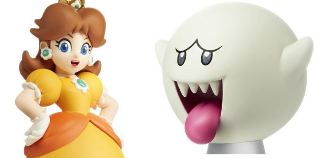 Daisy and Boo amiibos