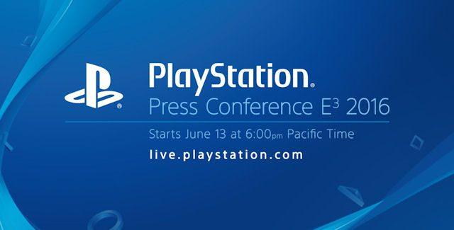 E3 2016 Sony Press Conference Roundup