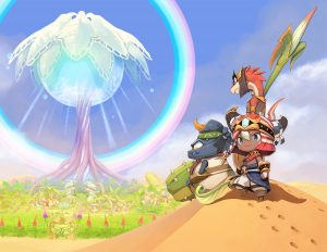 Ever Oasis Key Art