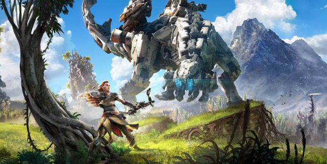 Horizon: Zero Dawn Key Art