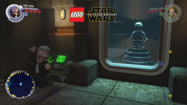 Lego Star Wars: The Force Awakens Carbonite Brick opening Decarboniser location