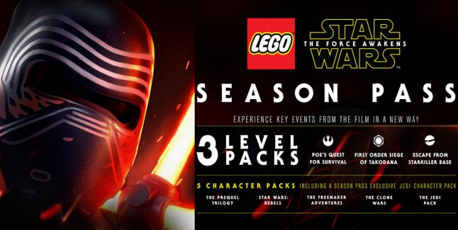 Lego Star Wars: The Force Awakens DLC Season Pass Announced