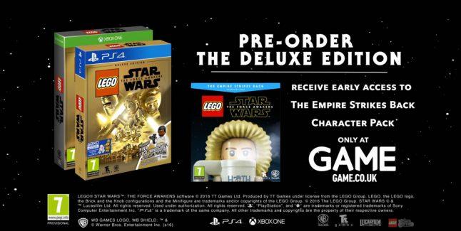 Lego Star Wars: The Force Awakens Pre-order Bonus