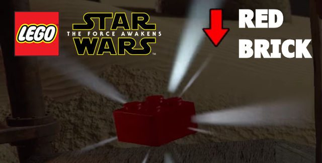 Lego Star Wars: The Force Awakens Red Bricks Locations Guide