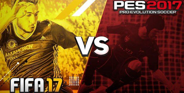 PES 2017 VS FIFA 17 Comparison