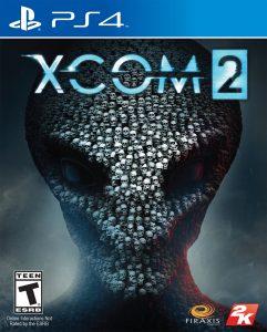 XCOM 2 PS4 Cover Art
