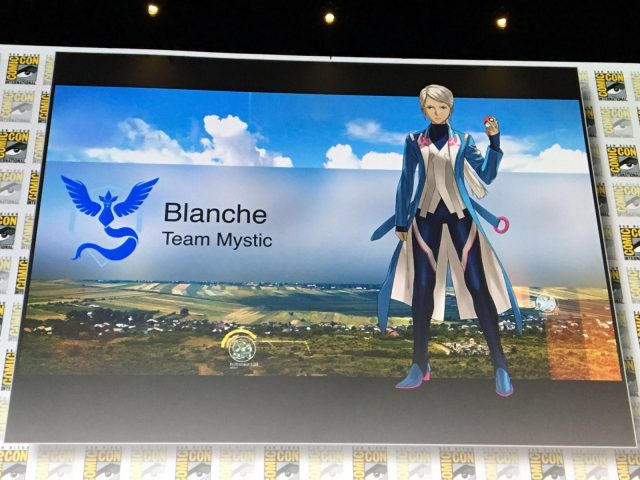 Pokemon Go Blanche