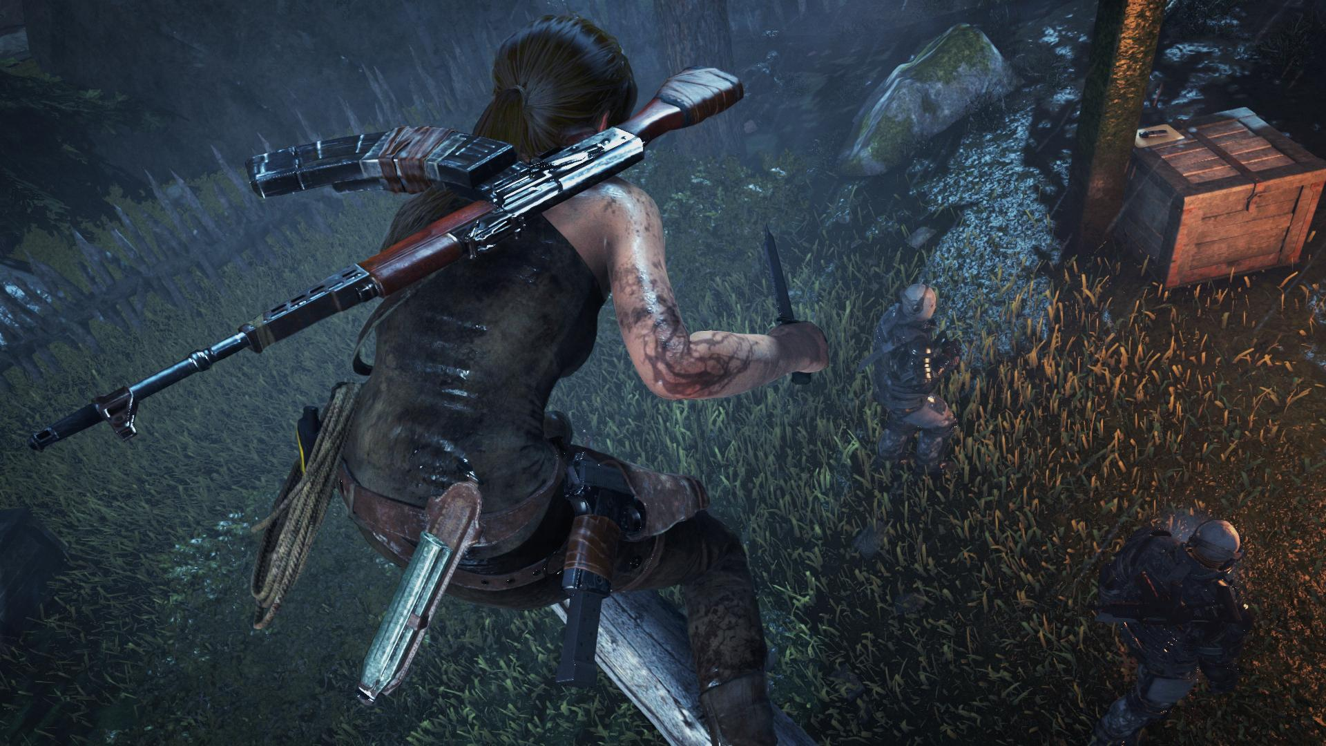 Rise Of The Tomb Raider Ps4 Combat