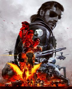 Metal Gear Solid V: The Definitive Experience Cover Art