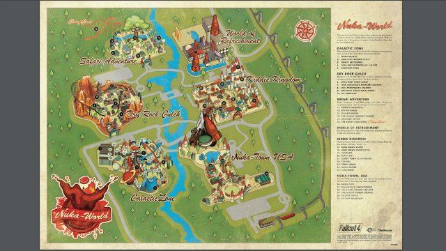 Fallout 4: Nuka World Park Map