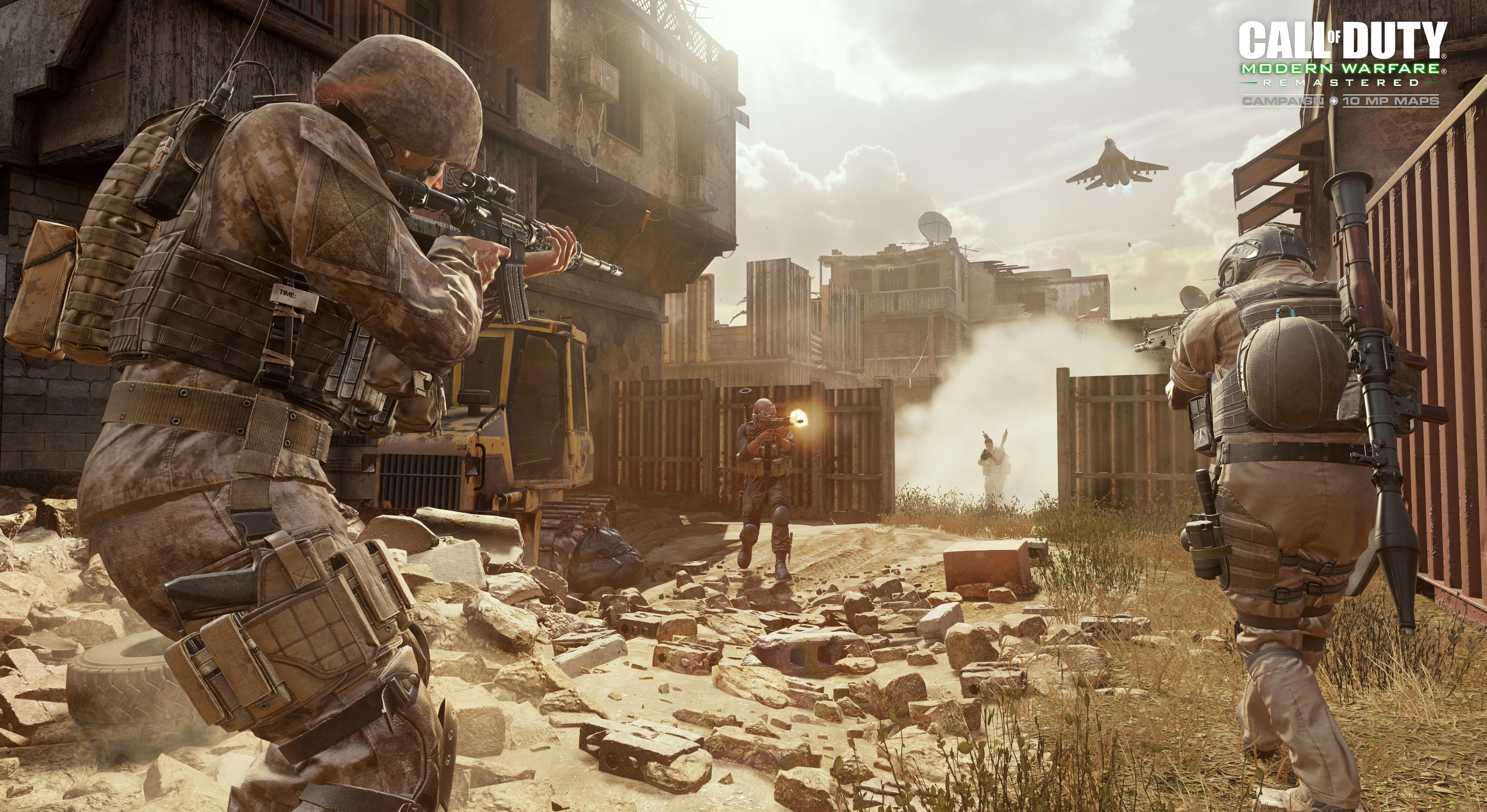 Resultado de imagen para Call of Duty: Modern Warfare Remastered
