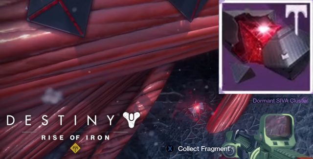 Destiny: Rise of Iron Dormant SIVA Clusters Locations Guide