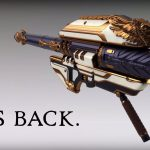 Destiny: Rise of Iron Gjallarhorn Exotic Rocket Launcher