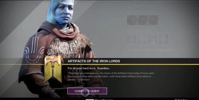 Destiny: Rise of Iron Iron Lord Artifacts Locations Guide