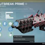 Destiny: Rise of Iron Outbreak Prime Exotic Pulse Rifle