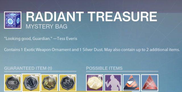 Destiny: Rise of Iron Radiant Treasures Locations Guide