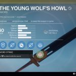 Destiny: Rise of Iron The Young Wolf's Howl Exotic Sword